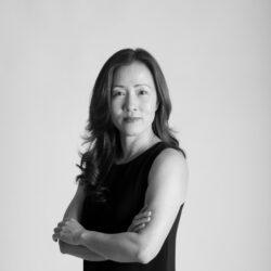 Black and white headshot of Weiling Xu